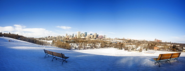 Edmonton, Alberta, Canada, Winter Scene