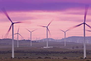 Wind Farm, Facinas, Cadiz Province, Spain