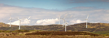 Wind Power, Dumfries And Galloway, Scotland