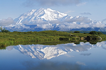 Mount Mckinley, Denali National Park, Alaska, United States Of America
