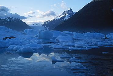 Icebergs, Portage Lake, Portage Glacier, Alaska