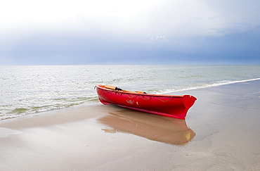 Boat At The Seashore, Baltic Sea