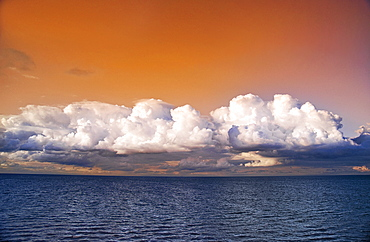 Storm Clouds Over Lake Ontario. Ontario, Canada.