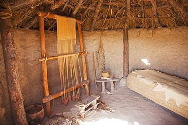 Interior Work Area At Los Millares, Almeria, Andalusia, Spain