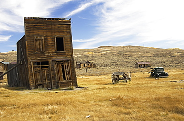 Gold mining ghost town, Bodie california united states of america