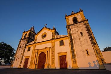 A cathedral igreja de sao salvador, Olinda pernambuco brazil
