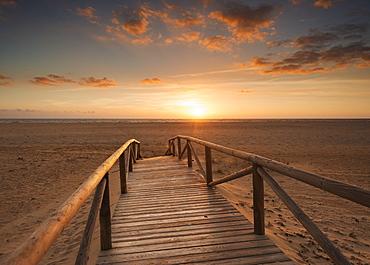 Los lances beach, Tarifa cadiz andalusia spain