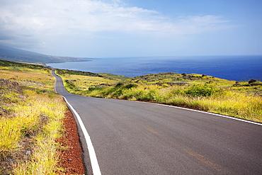 Piilani highway along kanaio coast, Maui, hawaii, united states of america