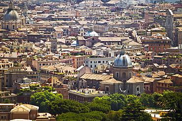 The View Of Rome From Saint Peter's Basilica, Rome, Italy