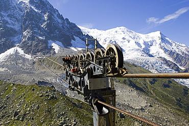 Cables, Mont Blanc, Aiguille Du Midi, Chamonix, France