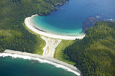 Guiss Bay, Cape Scott, West Coast, Vancouver Island, British Columbia Canada