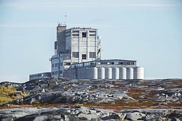 The Huge Port Building Of Canada's Only Arctic Seaport, Churchill, Manitoba, Canada