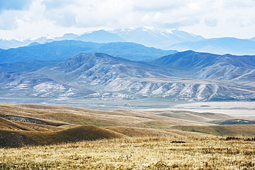 Tibetan Landscape Layers, Tibet, China