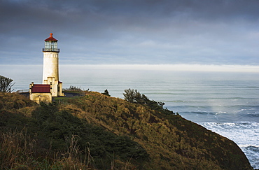 North Head Lighthouse, Cape Disappointment State Park, Ilwaco, Washington, United States Of America