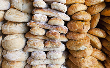 Bread For Sale At Borough Market, London, England