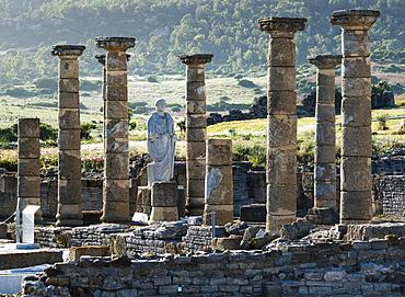 Ruins Of Baelo Claudia, Bolonia, Cadiz, Andalusia, Spain