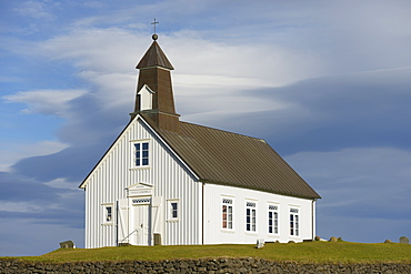 The Wooden Church Of Strandarkirkja, Porlakshofn, Arnessysla, Iceland