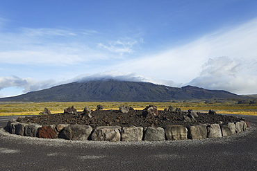 Lava Circle, Snaefellsnes, West Iceland, Iceland