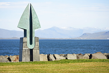 Partnership, A Gift To Commemorate 50 Years Of Diplomatic Relations Between Iceland And The United States 1941-1991, Reykjavik, Gullbringusysla, Iceland