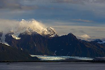 Child's Glacier In The Evening, Cordova, Alaska, United States Of America