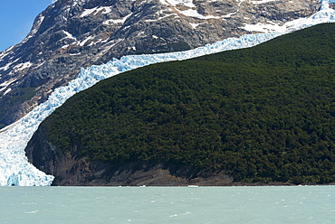 Lake Argentino And Moreno Glacier, Los Glaciares National Park, Santa Cruz Province, Argentina