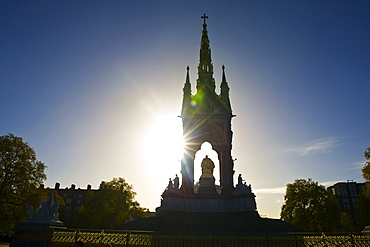 Albert Memorial, Kensington Gardens, London, England