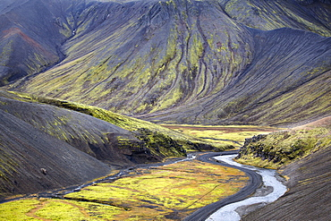 Dramatic Topography Of Iceland's Volcanic Aftermath, Iceland