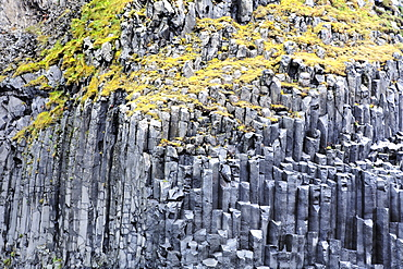 Unique Rock Formation In South Iceland, Near The Town Of Vik, Iceland