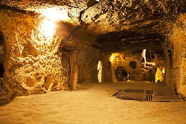 Kaymakli Underground City, Kaymakli, Cappadocia, Turkey