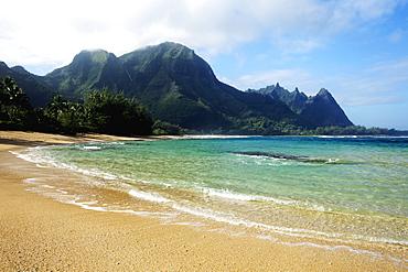 Tunnels Beach, Kauai, Hawaii, United States Of America