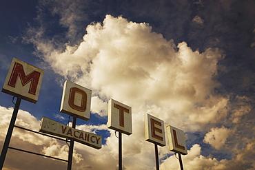 Old Motel Sign, Edmonton, Alberta, Canada