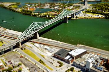 Jacques Cartier Bridge, Montreal, Quebec, Canada