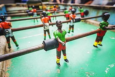 Table Football Game, Tarifa, Cadiz, Andalusia, Spain