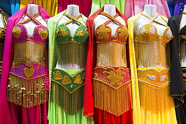 Belly Dancing Dresses For Sale, Khan Al-Khali Bazaar, Cairo, Egypt