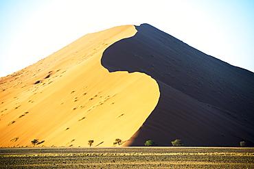 Large Desert Sand Dunes, Sossusvlei, Namibia