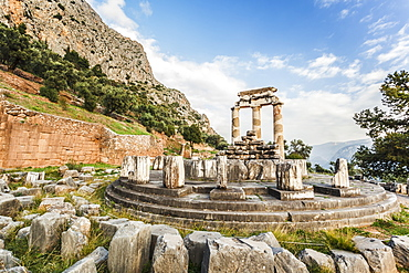 Sanctuary Of Athena, Delphi, Greece