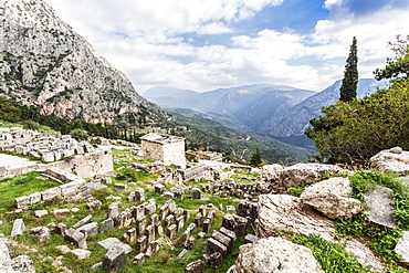 Treasury Of Athenians, Delphi, Greece