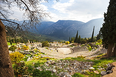 Delphi Theatre, Delphi, Greece
