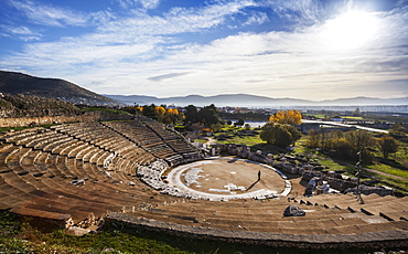 Theatre Of Philippi, Philippi, Greece
