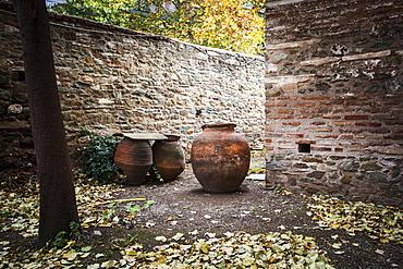 Stone Walls Of Church Of St. George, Thessaloniki, Greece