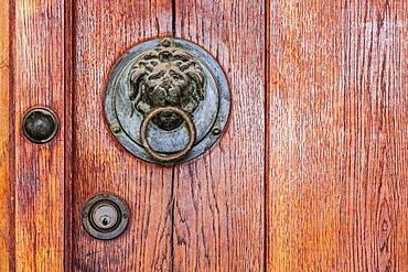 Lion Door Knocker, Ancient Agora Museum, Athens, Greece