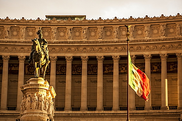 Statue Of Victor Emmanuel, Rome, Italy