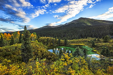 A Portion Of The Lapie Lakes Along The South Canol Road, Yukon, Canada