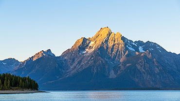 Grand Teton Range And Lake Jackson, Grand Teton National Park, Wyoming, United States Of America