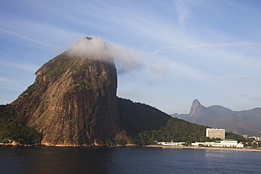 Fora Beach, Christ The Redeemer Statue And Sugarloaf Mountain, Rio De Janeiro, Brazil