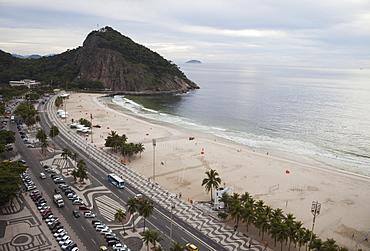 Leme Beach And Leme Fort, Rio De Janeiro, Brazil