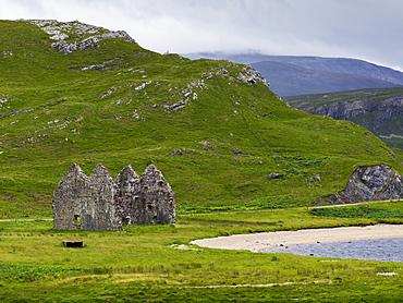 Ruins Of Calda House, Scotland