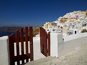 Open Gate, Santorini, Greece