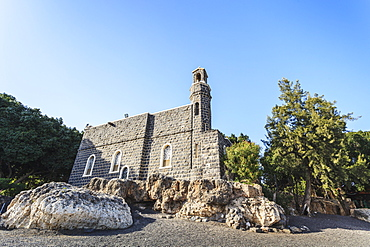 The Church Of The Primacy Of St. Peter On The Northwest Shore Of The Sea Of Galilee, Israel