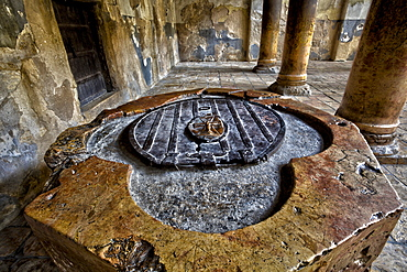 Baptistry In The Church Of The Nativity, Bethlehem, Israel